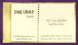 Дизайнерские визитки 40103