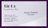 Дизайнерские визитки 40121
