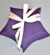 Коробочки для подарков Фиолетовая звезда