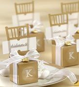 Коробочки для подарков Золотые стулья