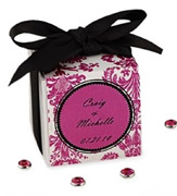 Коробочки для подарков Малиновая коробочка