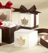 Коробочки для подарков Кленовый презент кор.