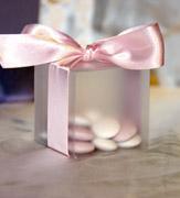 Коробочки для подарков Матовая бонбоньерка