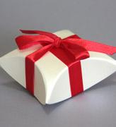 Коробочки для подарков Молочная ракушка