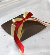 Коробочки для подарков Бронзовая ракушка