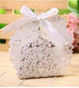 Коробочки для подарков Нежный Восторг белый
