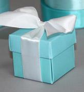Коробочки для подарков Тифани