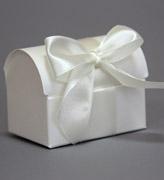 Коробочки для подарков Сундучок золотистый топаз