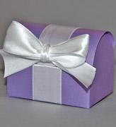 Коробочки для подарков Сундучок сиреневый