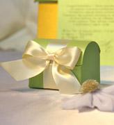Коробочки для подарков Салатовый сундучок
