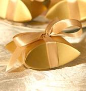 Коробочки для подарков Золотая ракушка