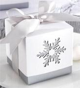 Коробочки для подарков Снежинка