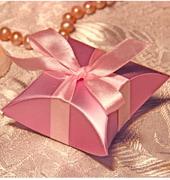Коробочки для подарков Розовая ракушка