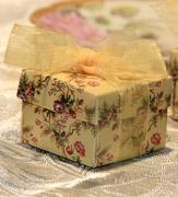Коробочки для подарков Цветочная коробочка малая