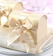 Коробочки для подарков Сундучок айвори