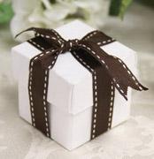 Коробочки для подарков White & Brown