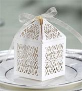 Коробочки для подарков Восторг белый