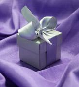 Коробочки для подарков Серебряная коробочка