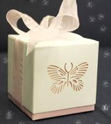 Коробочки для подарков Розовая бабочка