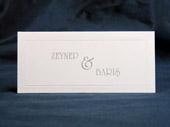 Рассадочные и банкетные карточки E-05