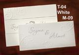 Рассадочные и банкетные карточки M-09